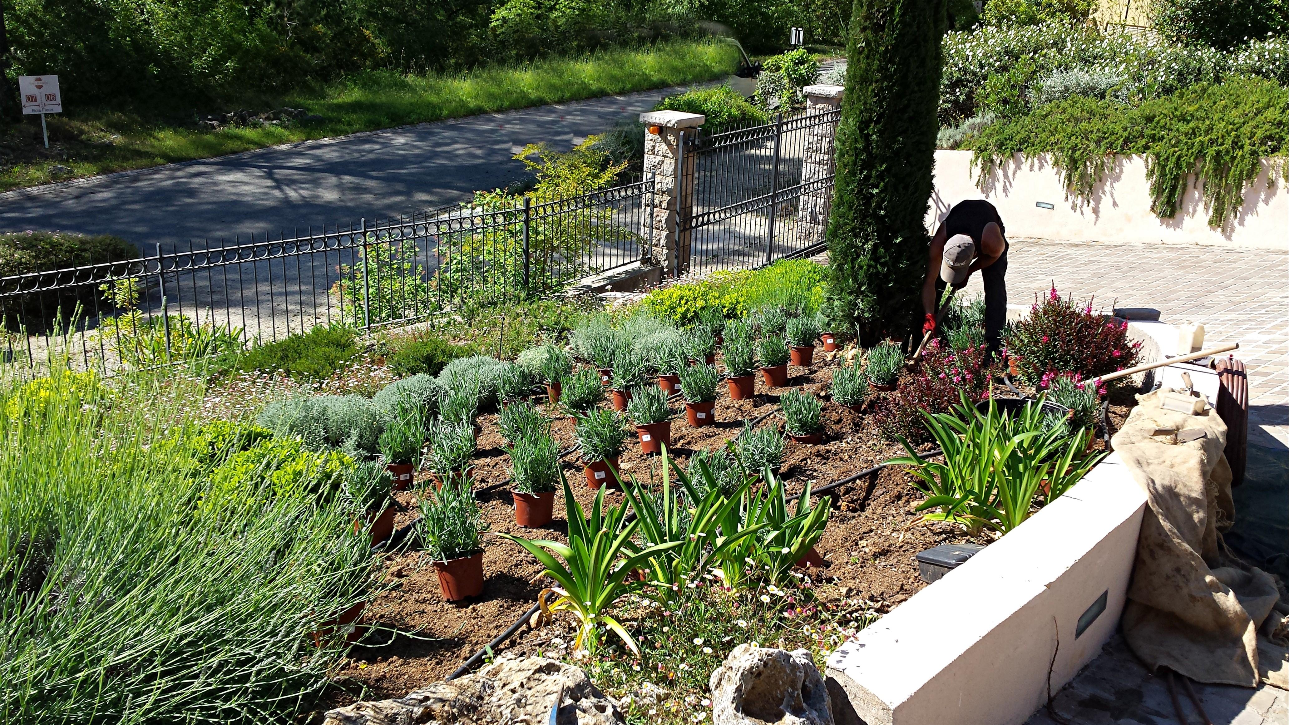 Nature espaces paysages nep cr ation entretien de jardin for Jardin creation entretien