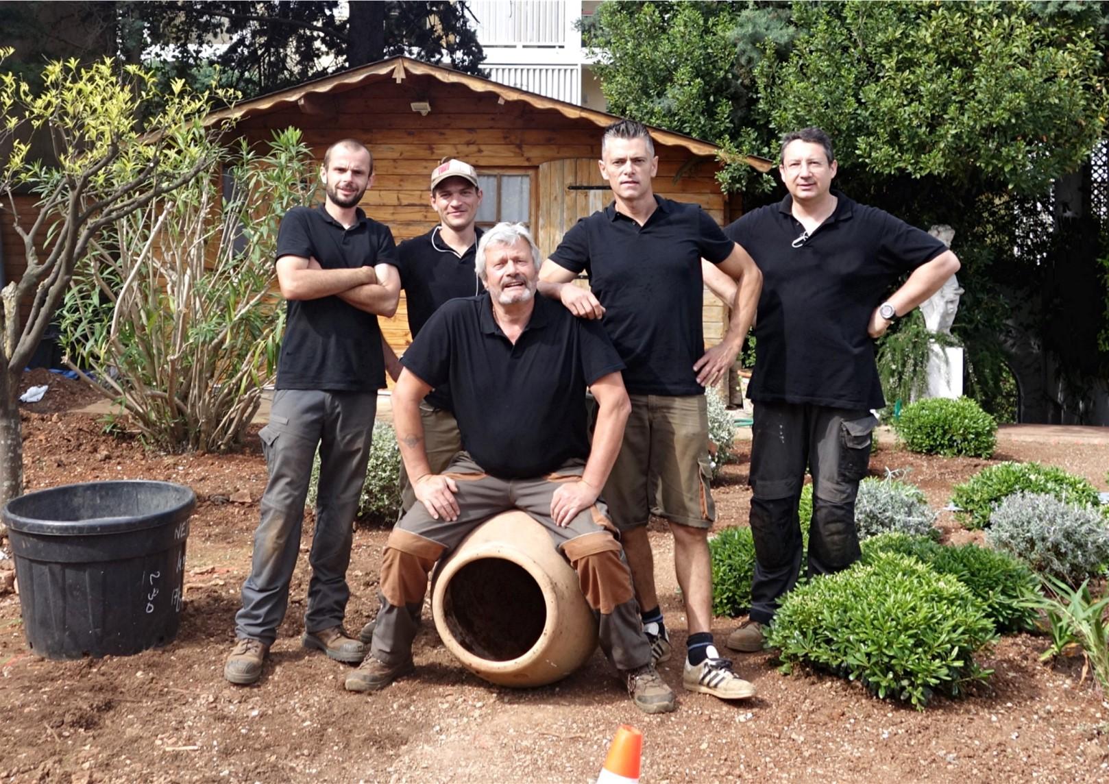 Equipe Nature Epaces Paysages : jardin entretien